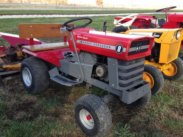 31 Best Images About Massey Furgeson Garden Tractors On