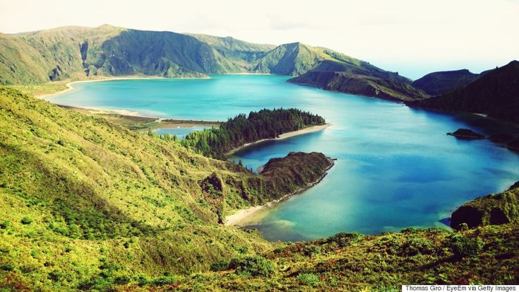 The Azores Islands Are The Atlantic Ocean's 'Best-Kept Secrets' For Excellent Reason - Europe's Perfect, Little-Known Island Chain Won't Be A Secret Much Longer - via Huffington Post 02.06.2015 | Picture emerald beaches, dazzling blue lakes, verdant pastures, volcanic caverns, bubbling mud pots, sprawling sunrises and waterfalls cascading deep into ravines (which you can rappel into, by the way). UNESCO designated the Azores a Biosphere Reserve in 2009 for their impeccable preservation…