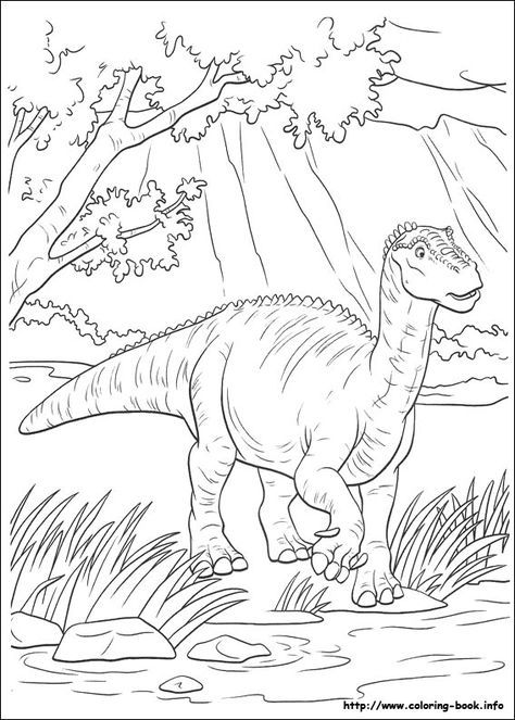 Dinosaure coloring picture | joans crafts | Dinosaur coloring pages ...