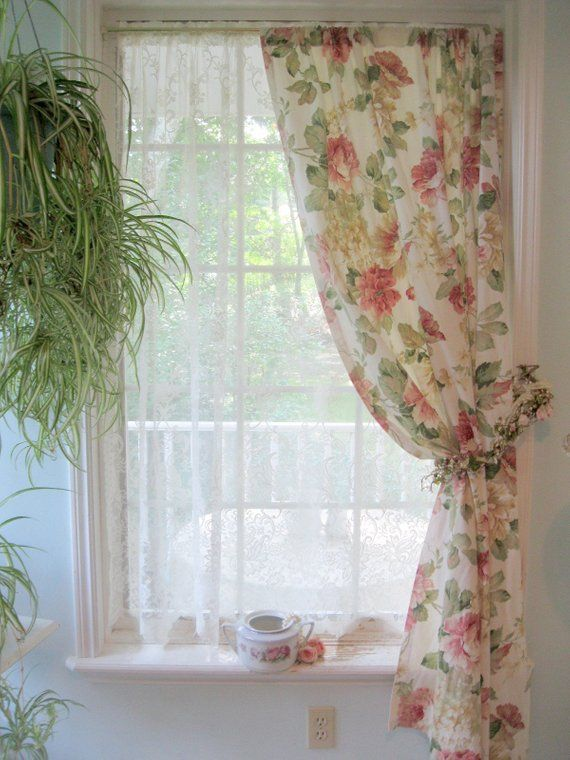 Pin By Viktoriia On Curtain Hanging In 2020 Voile Curtains Living Room Home Curtains Vintage Curtains #vintage #curtains #for #living #room