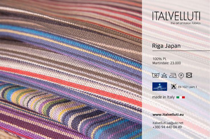 Есть рисунки, которые никогда не выйдут из моды. Контрастная мелкая полоска ткани RIGA JAPAN покоряет своим качеством, роскошью и изысканностью. Эффектно и уютно! http://www.italvelluti.pl/kolekcja/1315,JAPAN-COLLECTION