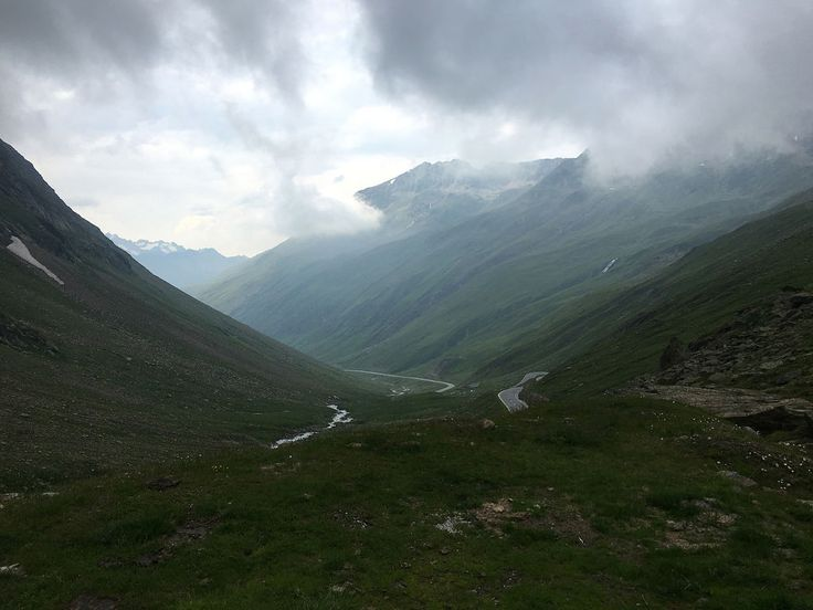 On the way up to Timmelsjoch