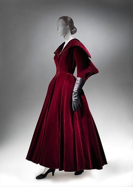 Evening coat Designer: Charles James (American, born Great Britain, 1906–1978) Date: 1949 Culture: American Medium: silk