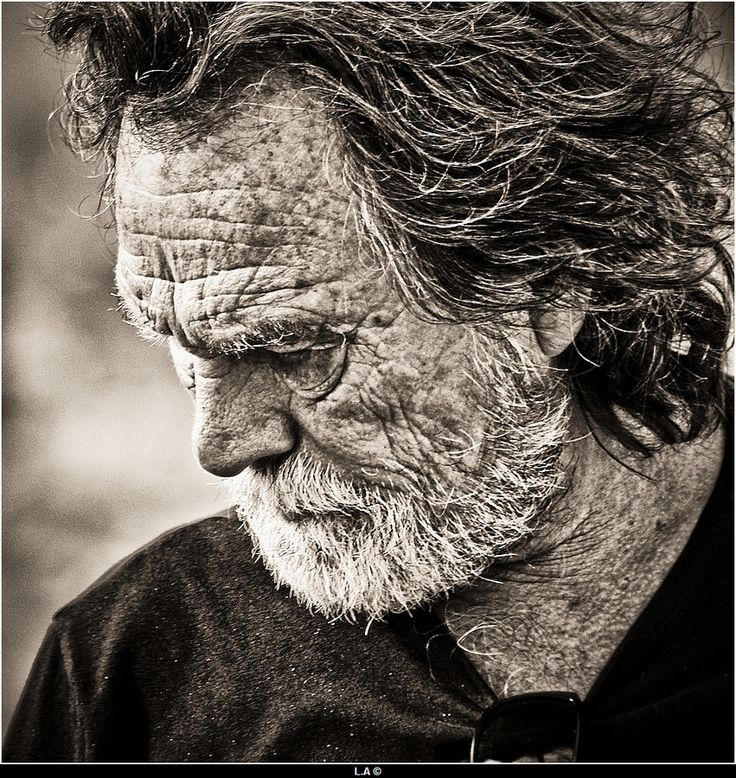 The man with a wrinkled face by Loïc Auffray, via 500px