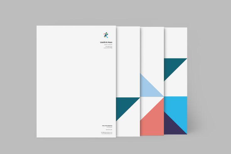 Design: Triangulate Designer: Chris Baron Product: Letterheads