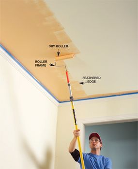 10 tips for a perfect paint job... these are awesome tips that I never would have thought of!