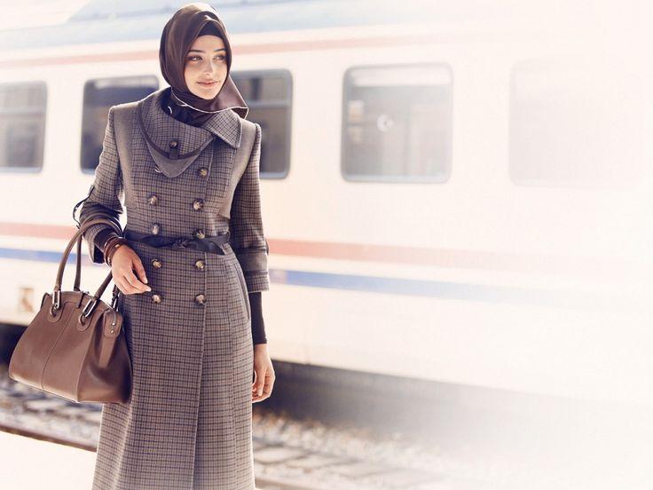 Zühre Pardesü #Pardosu #Coat #Hijab