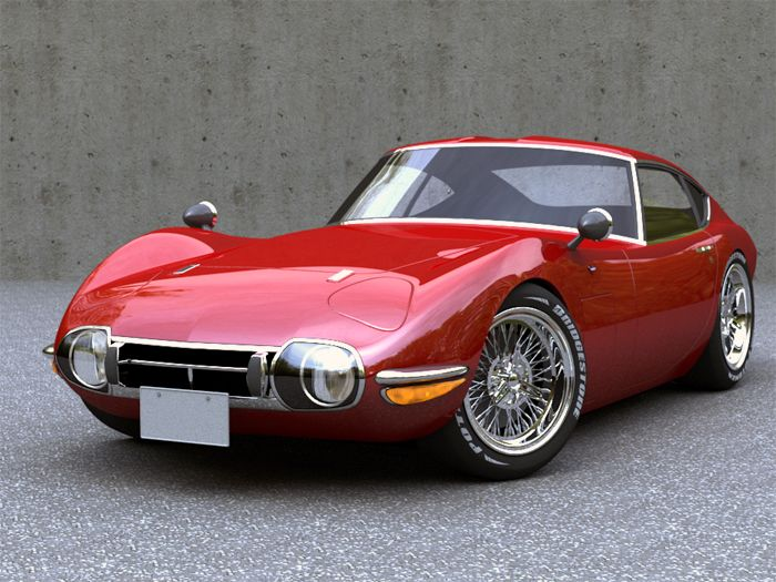 1967 TOYOTA MF10 2000GT (Earlier)