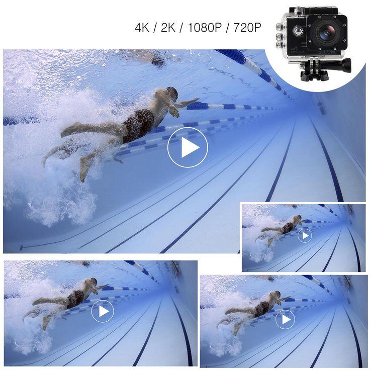 Amazon | 「SJCAM正規品」SJ5000X スポーツカメラ WiFi搭載 30m防水 170度広角レンズ  4K 1080P 液晶画面 HD動画対応 ハルメット式 バイクや自転車、カートや車に取り付け可能(ブラック) | 水中カメラ 通販