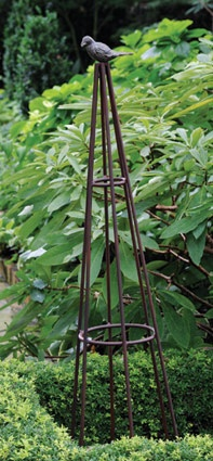 """Bird Trellis - 50""""H   Garden Accents and Statuary,Treillage   Charleston Gardens® - Home and Garden Collection Classic outdoor and garden furnishings, urns & planters and garden-related gifts"""