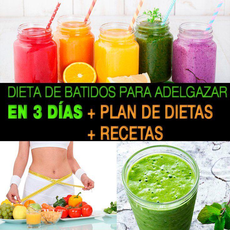 Batidos dieta de
