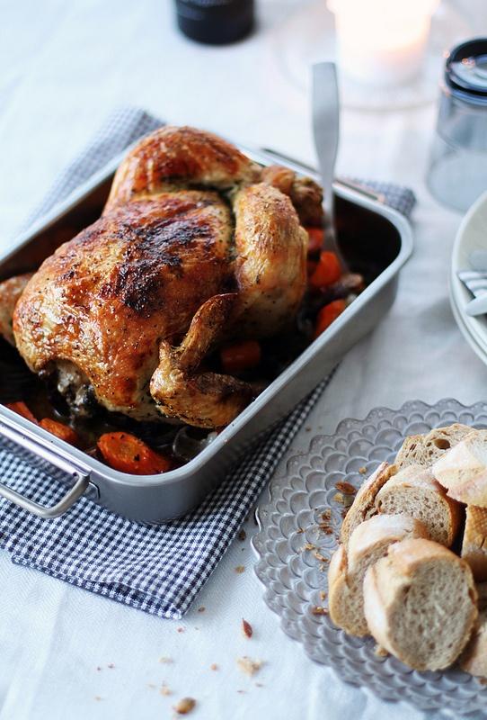 Owen roasted chicken