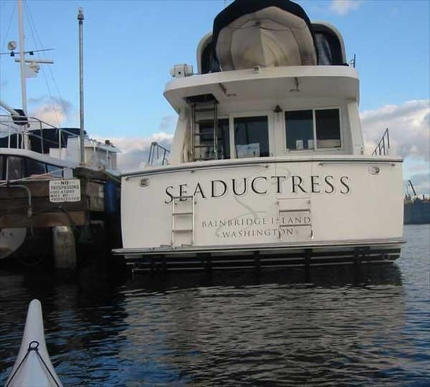 Funny Boat Names That Prove Men Never Really Mature 25 Pics