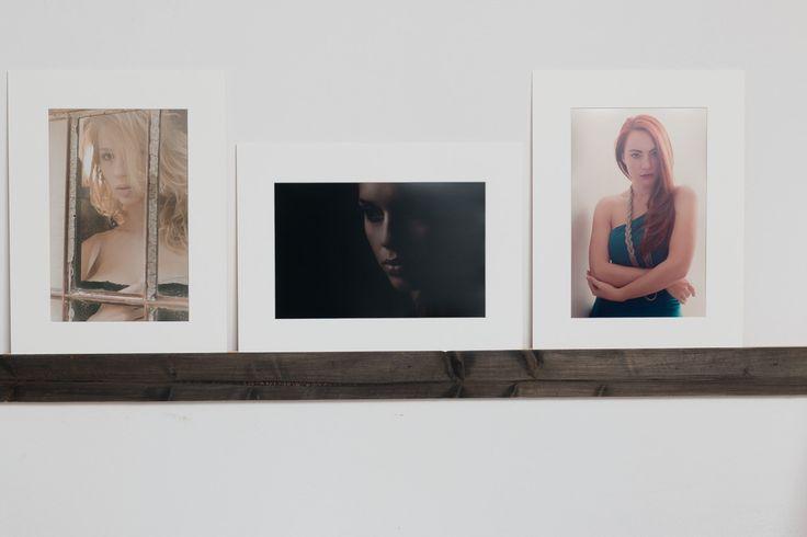 Tre concentrati di bellezza su Laparete: da sinistra a destra Natasha, Carmen e Benedetta.