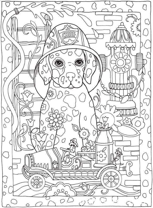 free printable dog coloring pages for adults | Pin by Paleo Pets on Cute Pets | Dog coloring page, Color ...
