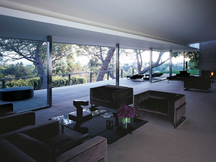Richard Neutra, Sidney Brown House, 1955, renovated and now owned by fashion designer Tom Ford.