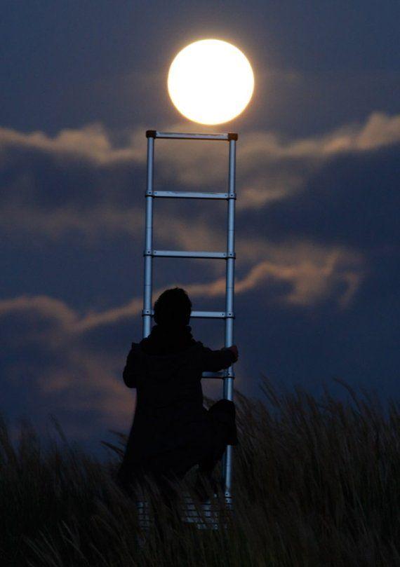 Fotografie: Bijzondere foto's van de maan - Nieuws - Droomplekken