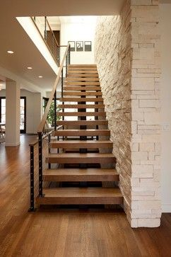 Linden Hills Contemporary - modern - staircase - minneapolis - Andrea Swan - Swan Architecture