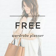 free capsule wardrobe planner to print, with sample to help create and style a capsule wardrobe that suits you