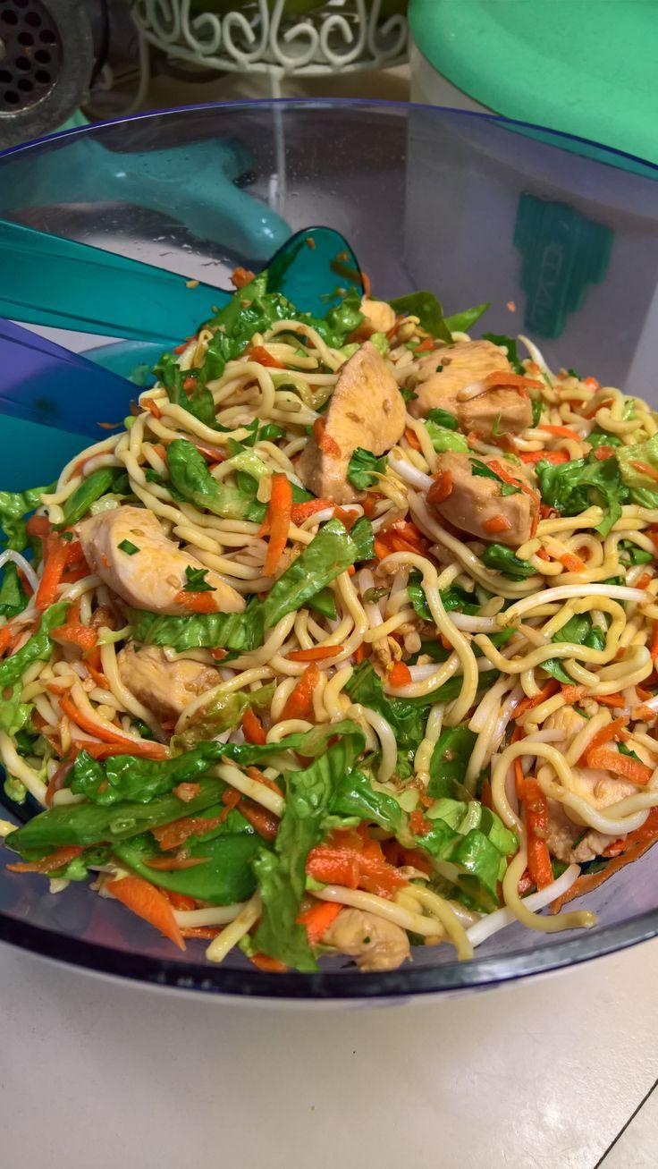 Asian Chicken Noodle Salad by vintage65 on www.recipecommunity.com.au