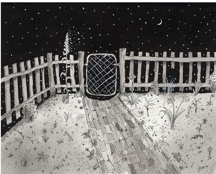 Garden Gate by Michael Leunig