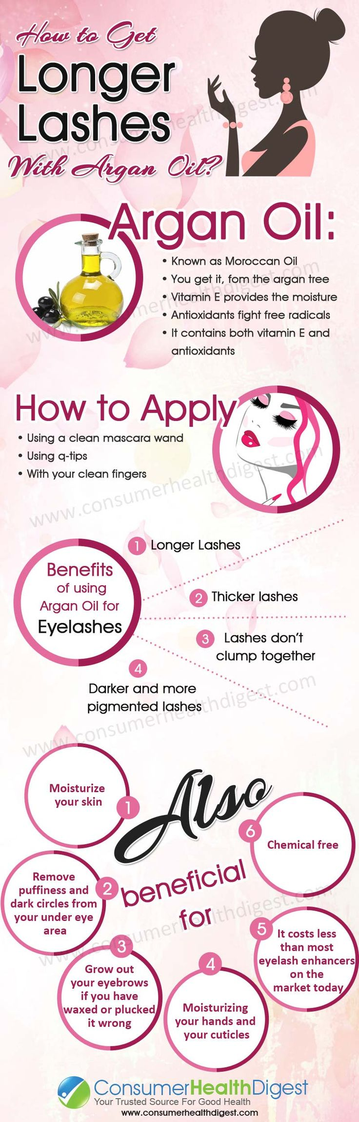 How to Get Longer Lashes With Argan Oil?