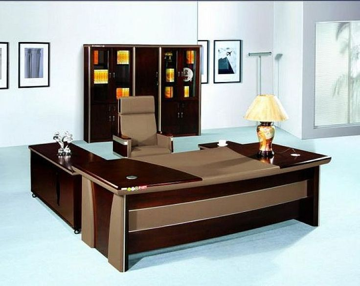 Modern office desk small home office desks office for Small home office furniture ideas