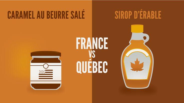 Top 23 des illustrations « France vs Québec », le grand clash des cousins en images