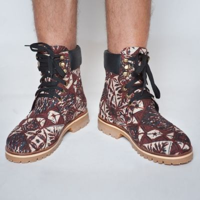 Handmade Batik mens boots LDC - WORKER BOOTS