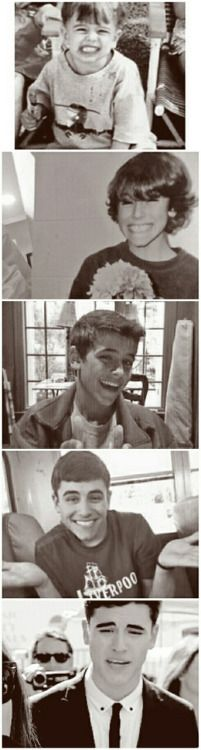 He's not attractive but the third pic is when he was my age