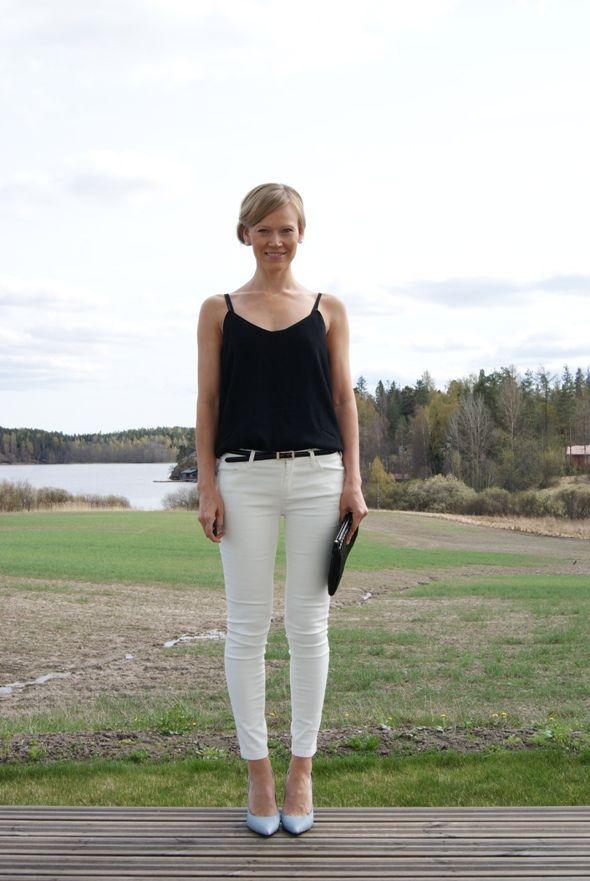 Jeans and top, Mango / belt, Uniqlo / bag, Miu Miu / shoes, KG by Kurt Geiger / Madeleine's Dream blog