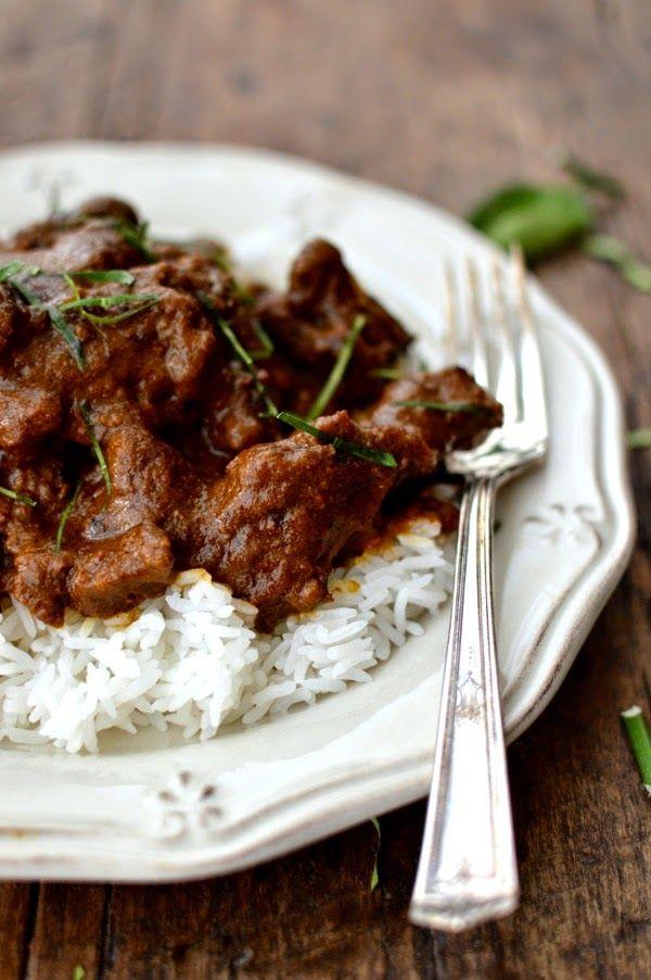 [Beef Rendang] + Click For Recipe! #easy #recipes #asian #malaysian