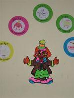 Clown verjaardagskalender - JufBianca.nl
