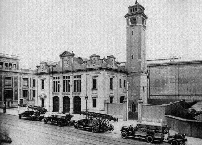 1929 Bombers carrer Lleida