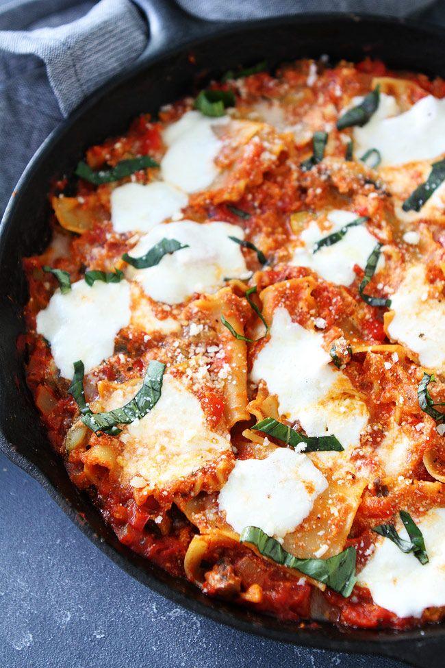 Easy yummy lasagna recipe