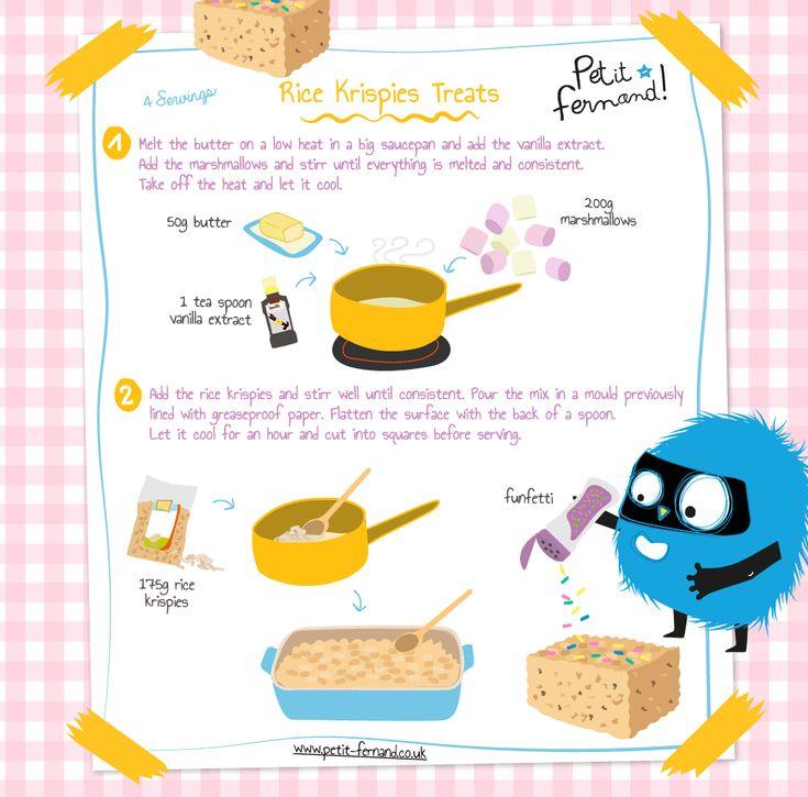 Rice Krispie Treats PetitFernand Rice krispies