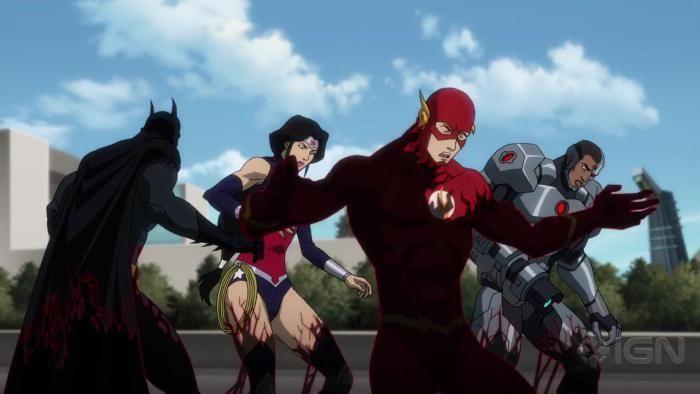 Justice League vs Teen Titans 1º Trailer