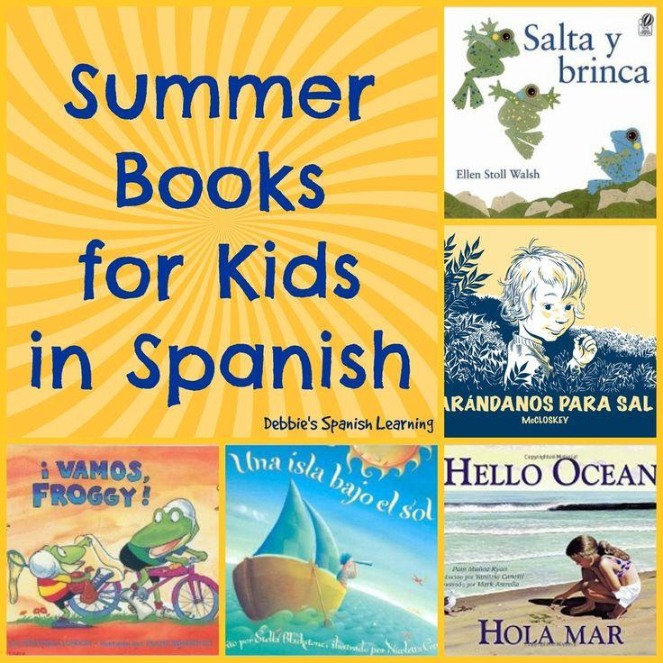 Debbie's Spanish Learning: Spanish Books for Summer {for Kids}