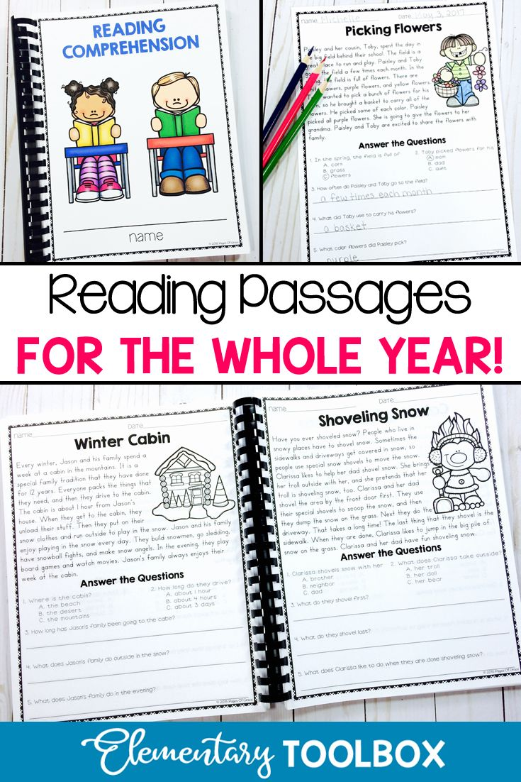 Improving Reading Fluency And Comprehension Is Fun And Effective With These Re Reading Comprehension Passages Teaching Reading Strategies Reading Comprehension Improving reading comprehension in