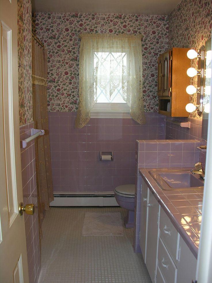114 best 1960s bathroom images on pinterest 1960s for Bathroom remodel 1960s