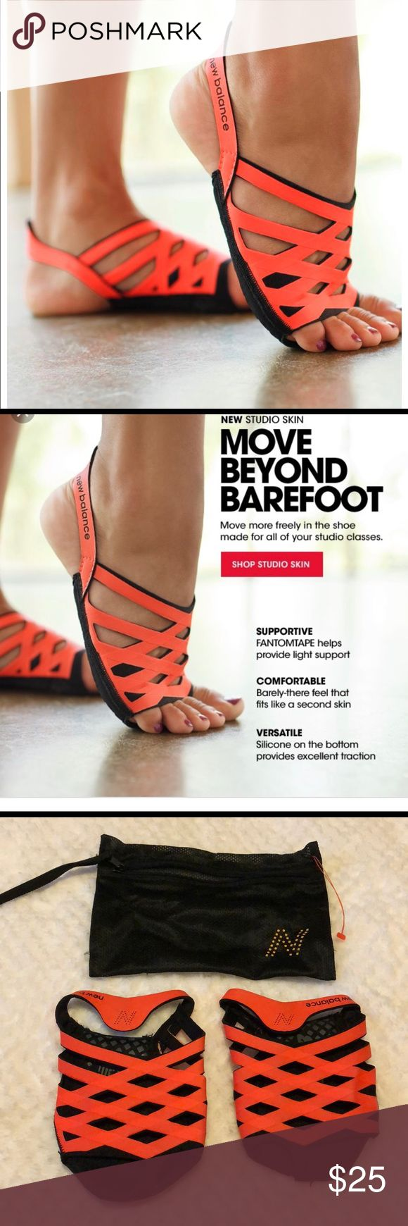 New balance studio skin NWOT new balance studio skin footies. SIZE M. Price is firm. Comes with keepsake bag. New Balance Accessories Hosiery & Socks