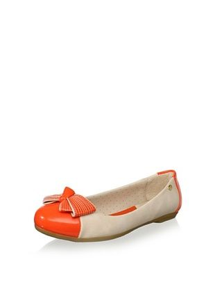 70% OFF Pampili Kid's Flat (Nude/Papaya)