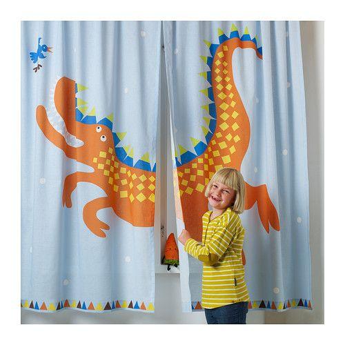 HELTOKIG Pair of curtains  - IKEA