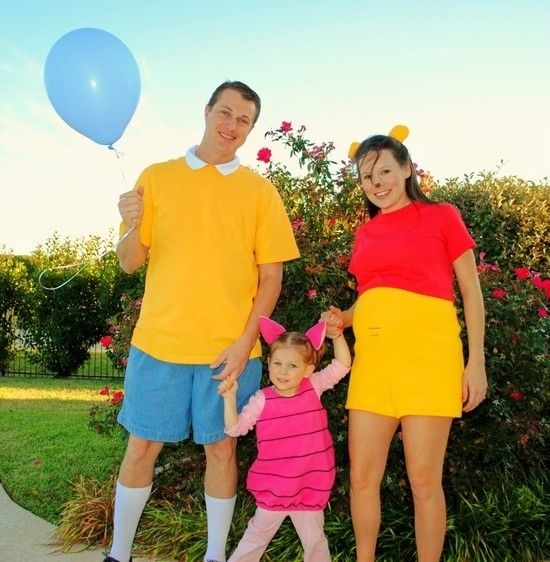 Winnie the Pooh | 32 Family Halloween Costumes That Will Make You Want To Have Kids