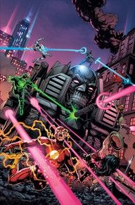 As the events of DARK NIGHTS: METAL rock the DC Universe, the creatures of the Dark Multiverse stand ready to invade our world! How can even the World's Greatest Heroes stop a horde of deadly beings that appear to be powerful, nightmare versions of familiar figures? Find out in these special tie-in issues!