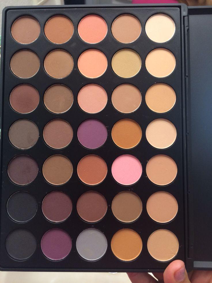 Matte morphe eyeshadow palette