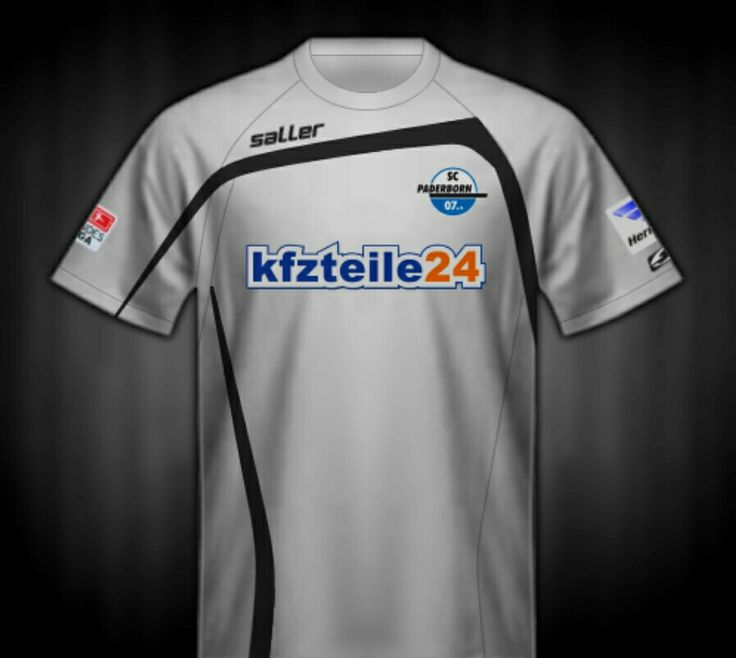 SC Paderborn 07 of Germany 3rd shirt for 2014-15.