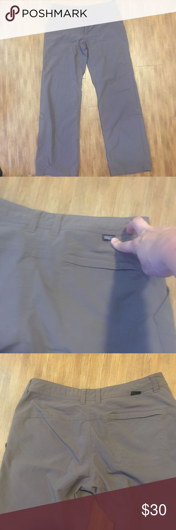 Women's Grey Patagonia Pants Absolutely perfect condition. Grey Hiking Pants from Patagonia Patagonia Pants