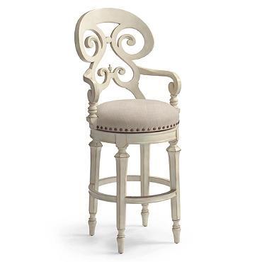 louisa swivel bar height bar stool 30