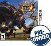 Monster Hunter 4 Ultimate - PRE-Owned - Nintendo 3DS, Multi